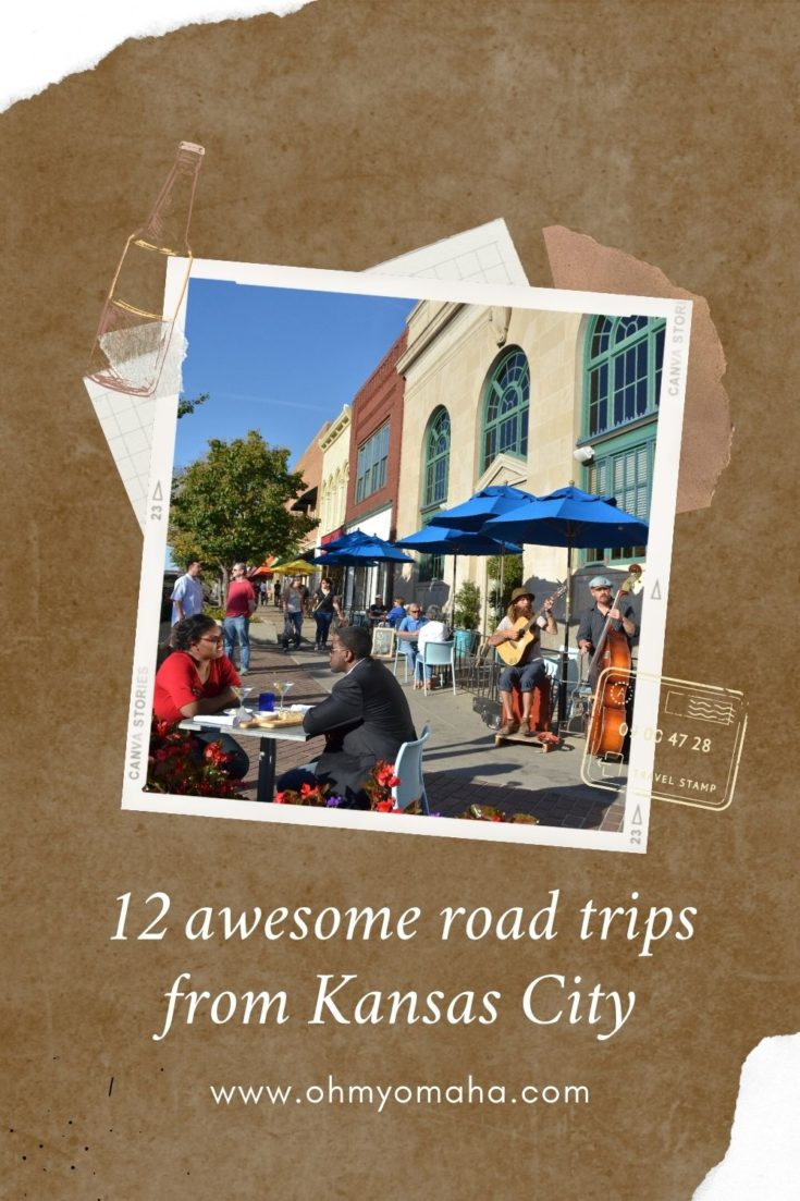 Want a day trip or weekend getaway from Kansas City? Here's a list of charming cities to visit in Kansas and Missouri - each with their own unique attractions and things to see and do.