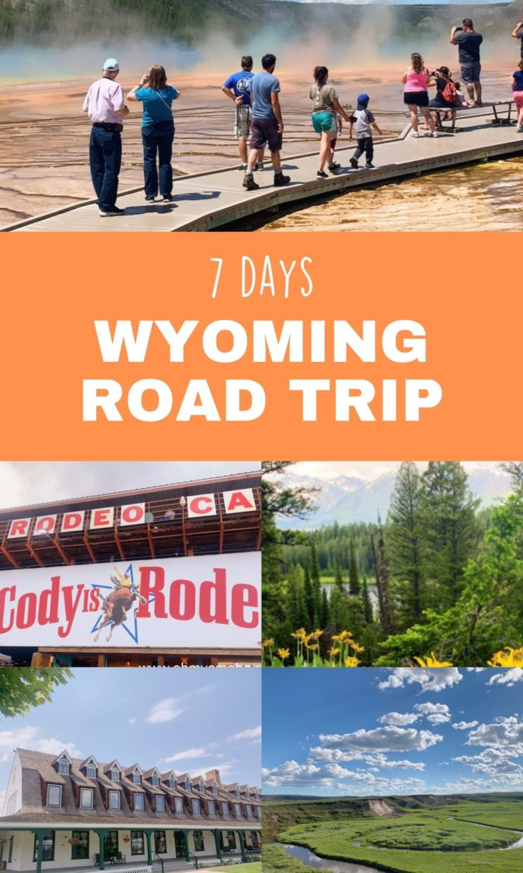 Spend a week exploring some of the most scenic areas of Wyoming! Here's a road trip that explores the Wild West towns of Sheridan and Cody, the natural beauty of Yellowstone and Grand Teton, and the touristy luxury of Jackson Hole.