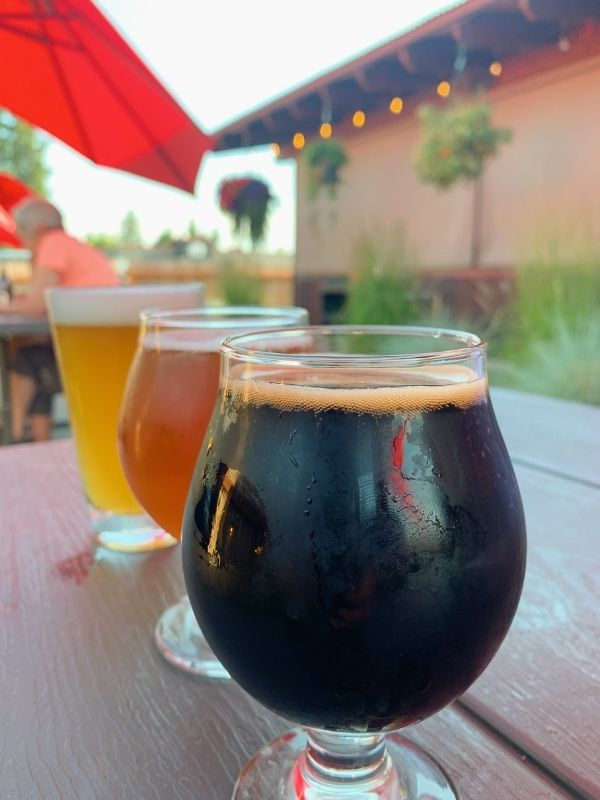 Beer at Backslope Brewing in Columbia Falls