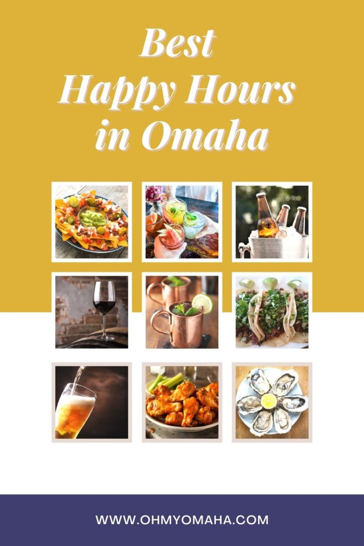 Find a Happy Hour in Omaha any day of the week! Here's a guide to 100+ food and drink specials at Omaha restaurants and bars.