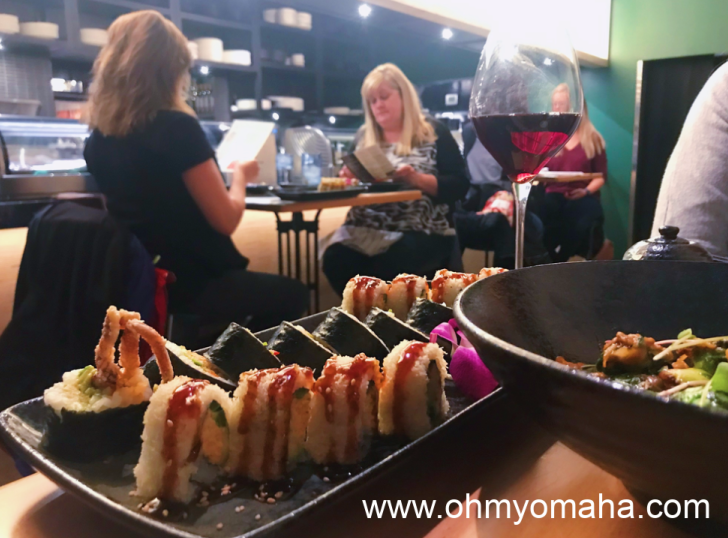 Sushi at Butterfish in Omaha