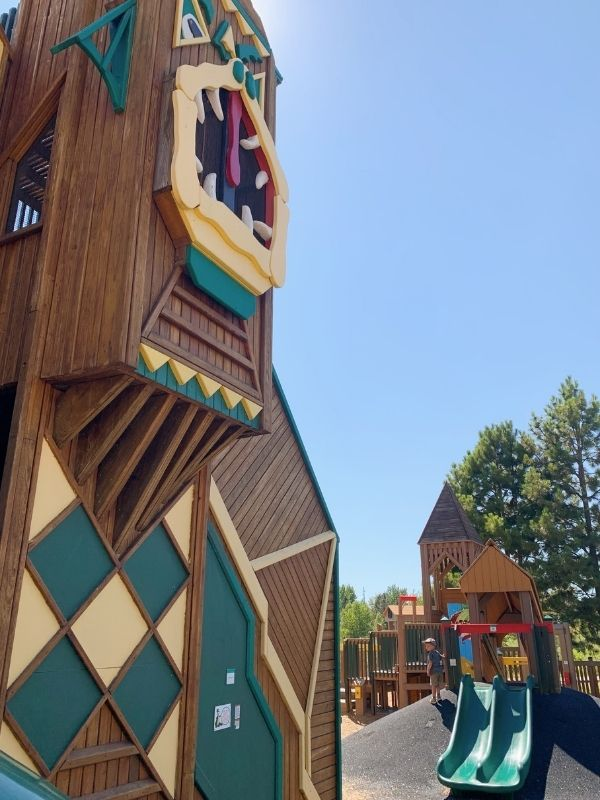 The Dragon Hollow playground in Missoula