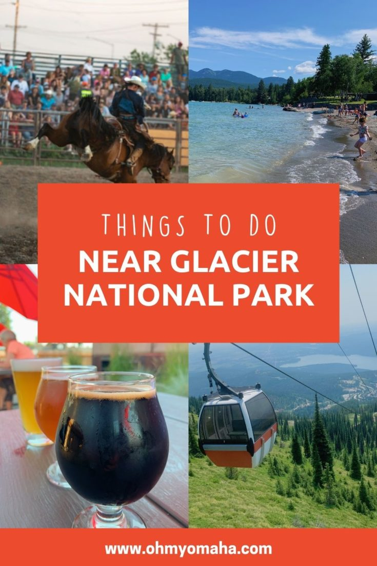 Glacier National Park is an amazing place to visit, but in case you want to spend a day outside the park, here are some fun ideas! Read about the fun things to do in Kalispell, Whitefish, Columbia Falls, Bigfork and other nearby towns.