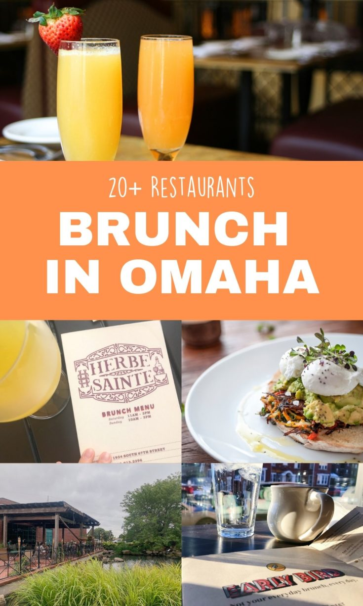 Omaha loves brunch and here's a list of the city's most popular restaurants with brunch menus.