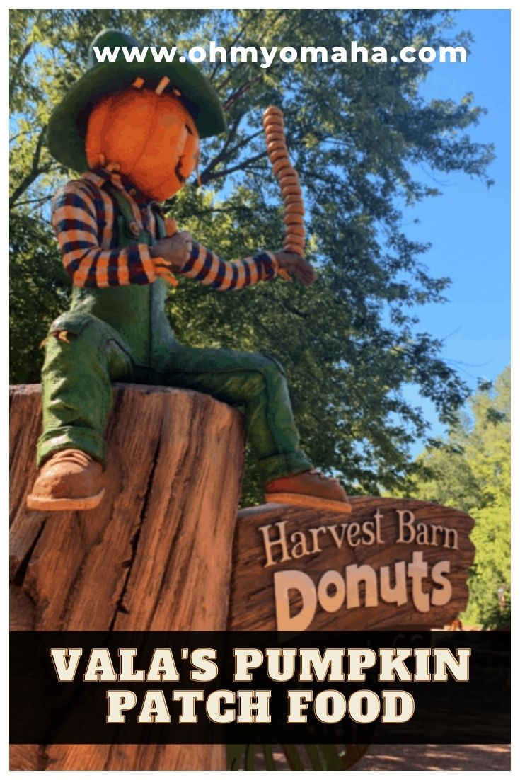 Hungry at the pumpkin patch? You must be at Vala's Pumpkin Patch and Apple Orchard in Nebraska! Here's the best food to try at Vala's, from donuts and sundaes to turkey legs and ribs.